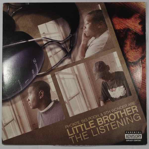LITTLE BROTHER - The Listening - LP x 2