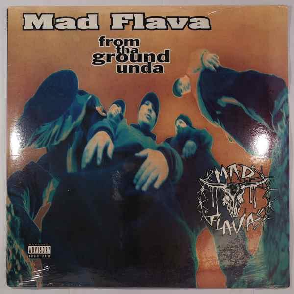 MAD FLAVA - From Tha Ground Unda - LP