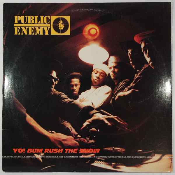 PUBLIC ENEMY - Yo! Bum Rush The Show - LP