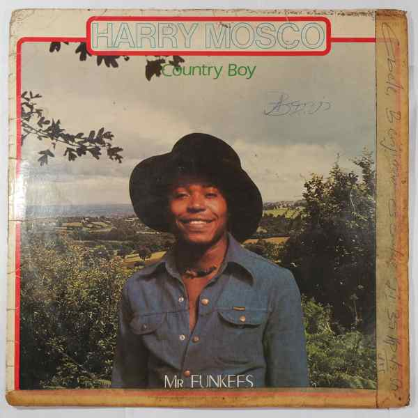 HARRY MOSCO - Country boy / Mr Funkees - LP
