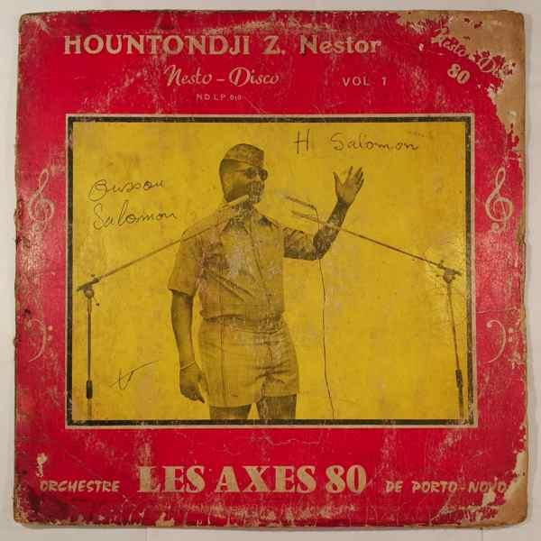 HOUNTONDJI Z. NESTOR ET LES AXES 80 - Special nesto-disco 80 - LP