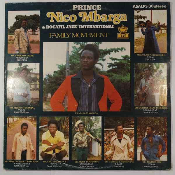 Prince Nico Mbarga & Rocafil International Family movement