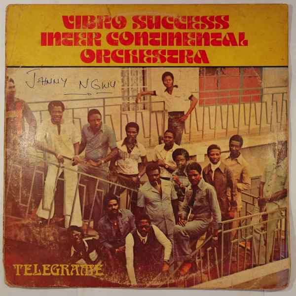 VIBRO SUCCES INTER CONTINENTAL ORCHESTRA - Telegrame - LP