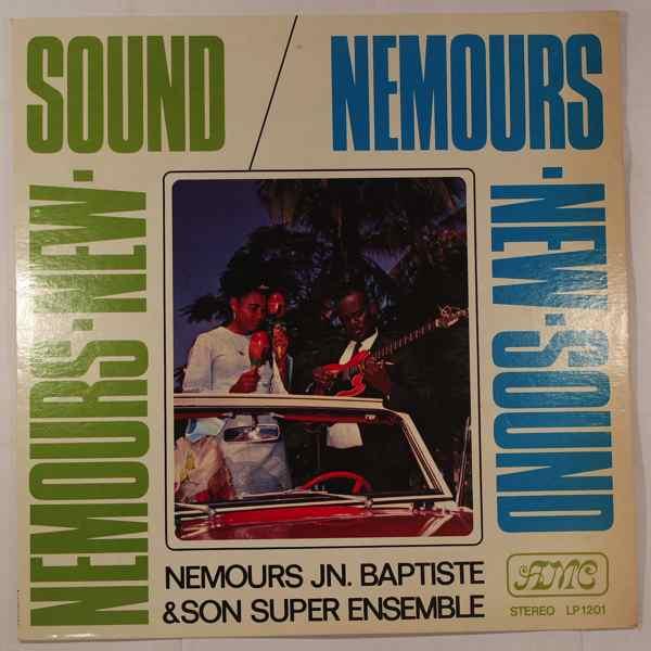 NEMOURS JEAN BAPTISTE - Nemours new sound - LP