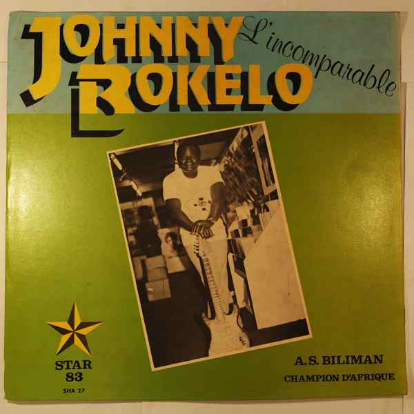 JOHNNY BOKELO - L'incomparable - LP
