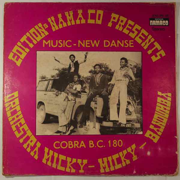 ORCHESTRA MICKY-MICKY - Cobra B.C. 180 - LP