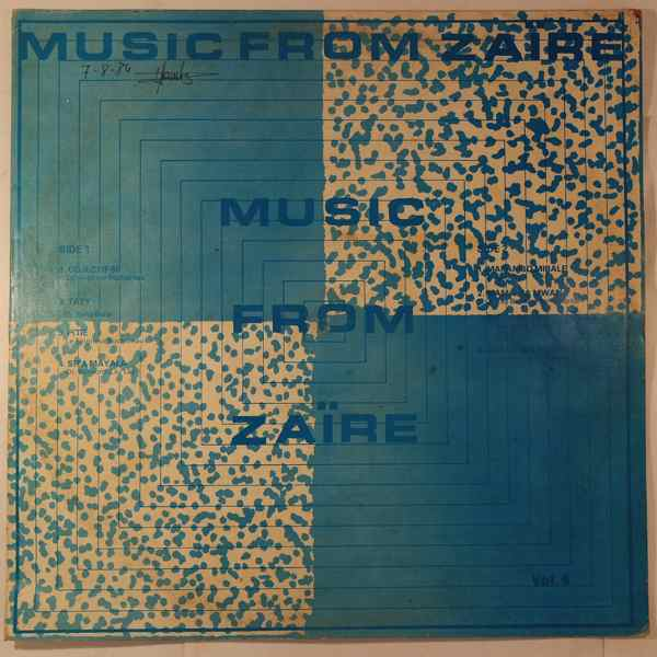 VARIOUS - Music from Zaire vol.4 - LP