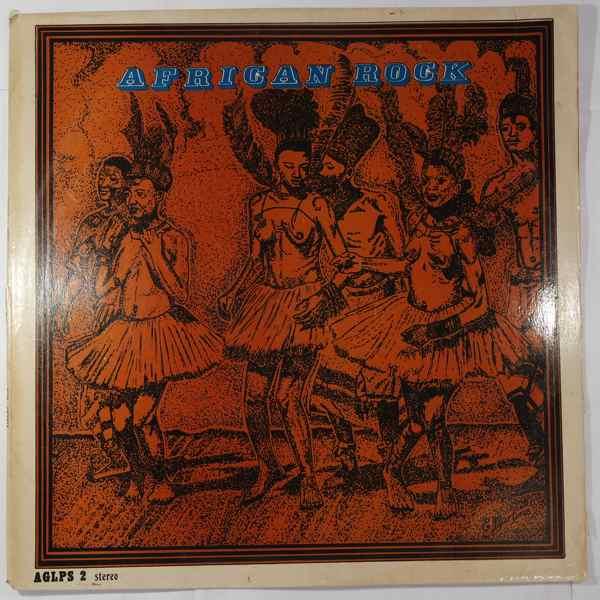 VARIOUS - African Rock - LP