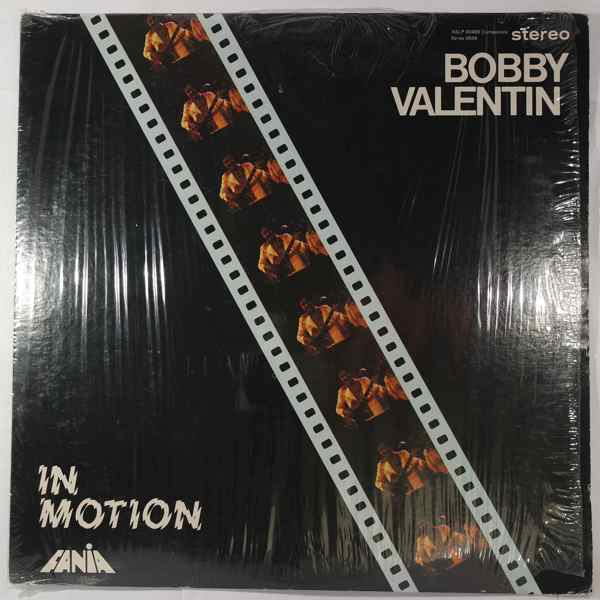 BOBBY VALENTIN - In Motion - LP