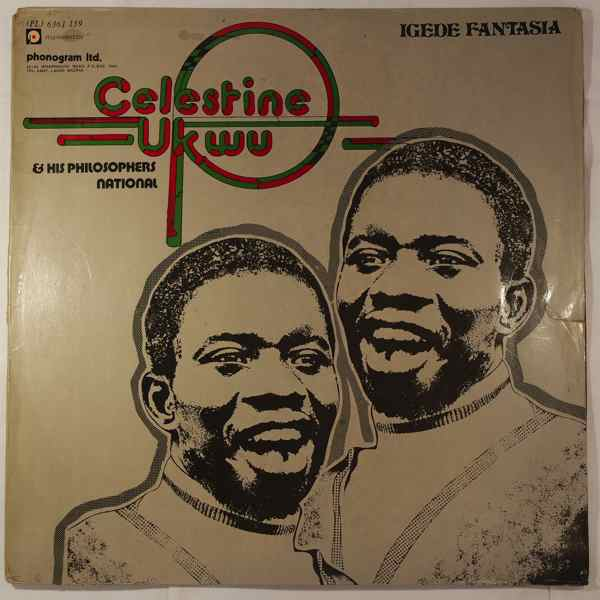 CELESTINE UKWU &HIS PHILOSOPHERS NATIONAL - Igede fantasia - LP