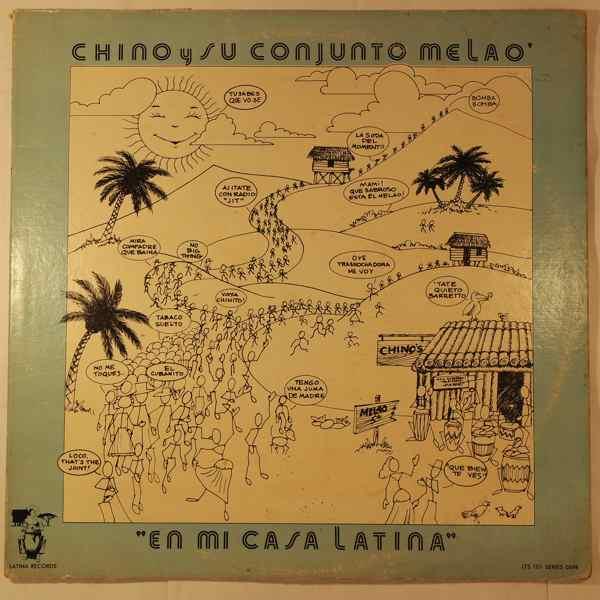 CHINO Y SU CONJUNTO MELAO - En mi casa latina - LP