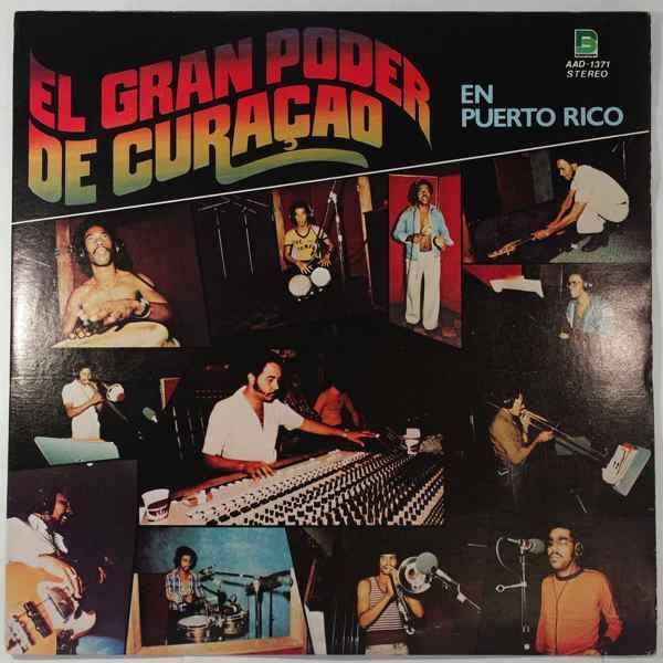 EL GRAN PODER DE CURACAO - En Puerto Rico - LP