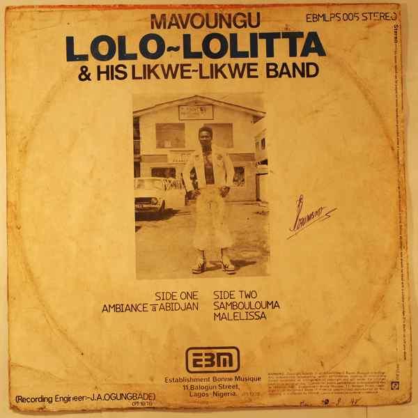 Mavoungu Lolo-lolita Ambiance a Abidjan