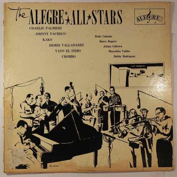 THE ALEGRE ALL STARS - Same - LP