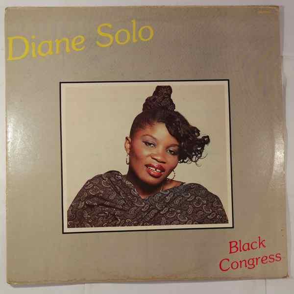 DIANE SOLO - Black congress - LP