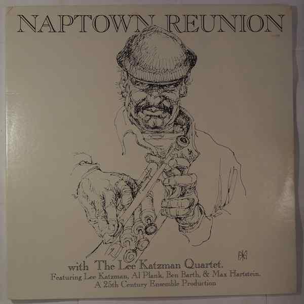 THE LEE KATZMAN QUARTET - Naptown Reunion - LP x 2