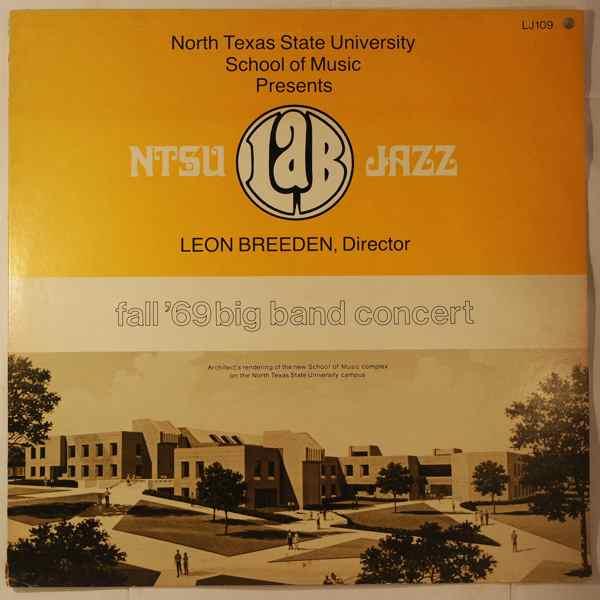 NTSU Lab Jazz Band Fall '69 Big Band Concert