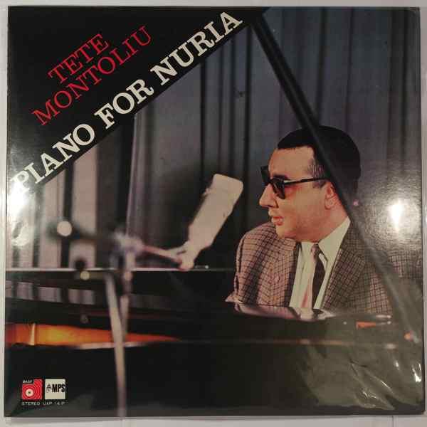 Tete Montoliu Trio Piano For Nuria