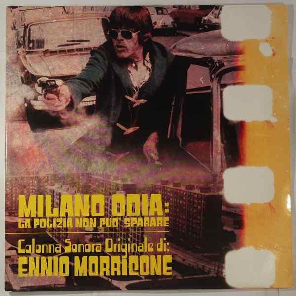ENNIO MORRICONE - Milano Odia: La Polizia Non Puo' Sparare - LP