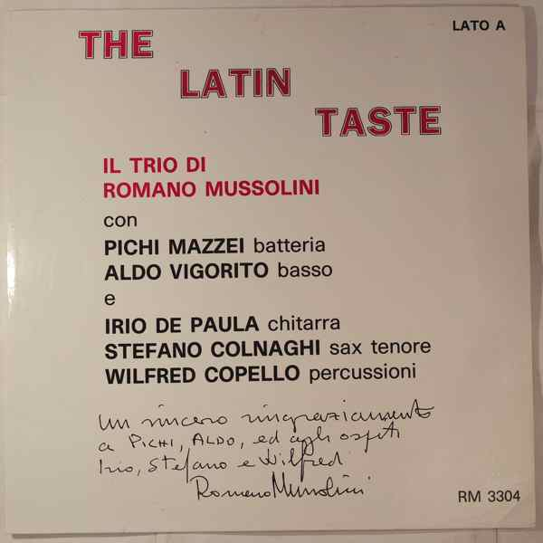 Romano Mussolini The Latin Taste