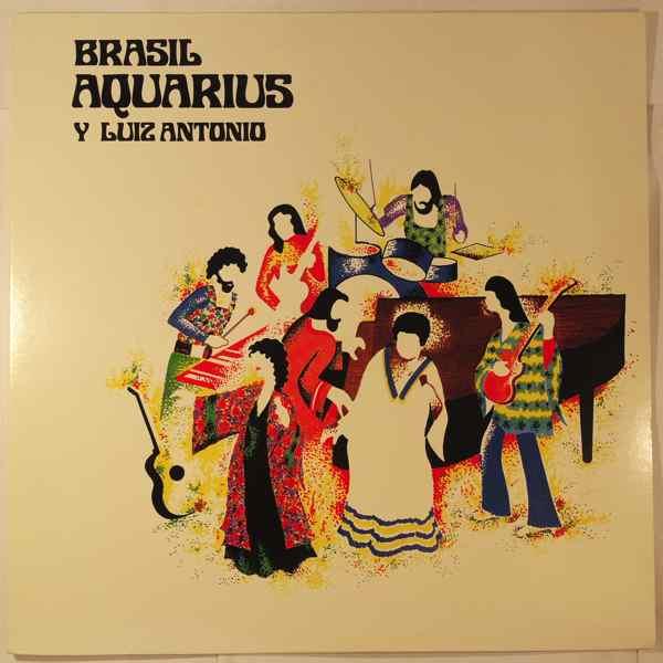 BRASIL AQUARIUS Y LUIZ ANTONIO - Same - LP