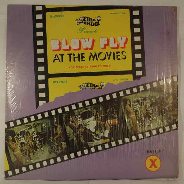 BLOWFLY - At The Movies - LP