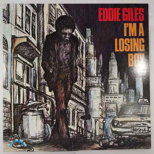 EDDIE GILES - I'm a losing boy - LP