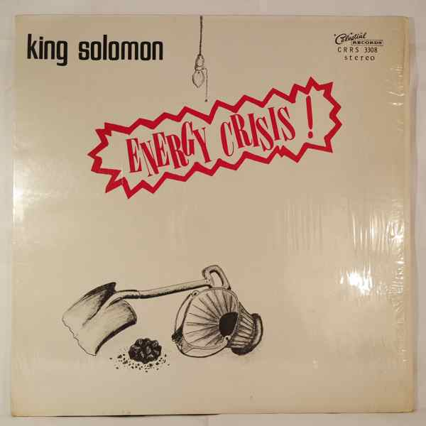 KING SOLOMON - Energy crisis - LP