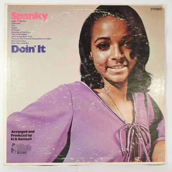 SPANKY WILSON - Doin' it - LP