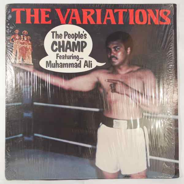 THE VARIATIONS - The people's champ - LP