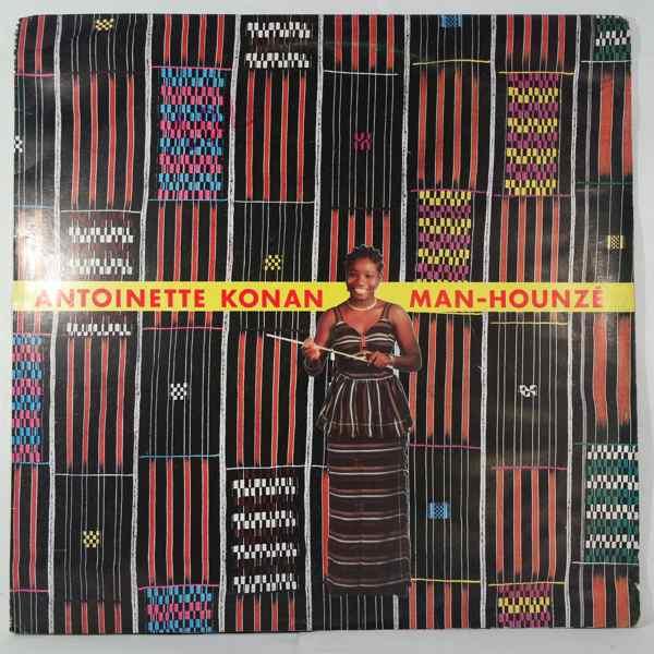 ANTOINETTE KONAN - Man-hounze - LP