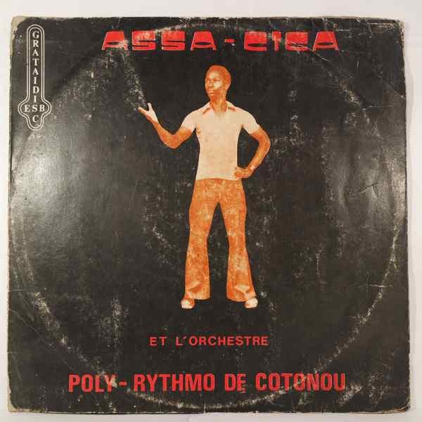 ASSA-CICA ET L'ORCHESTRE POLY-RYTHMO DE COTONOU - Same - LP