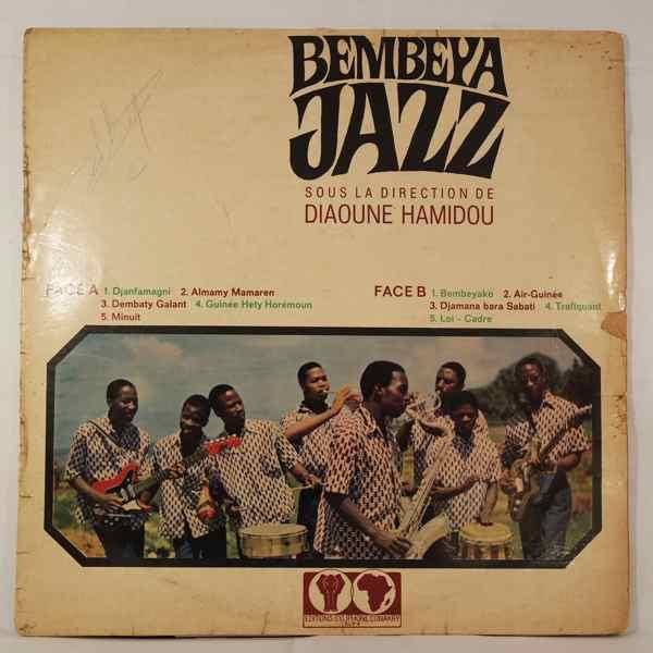 Bembeya Jazz Sous la direction de Diaoune Hamidou