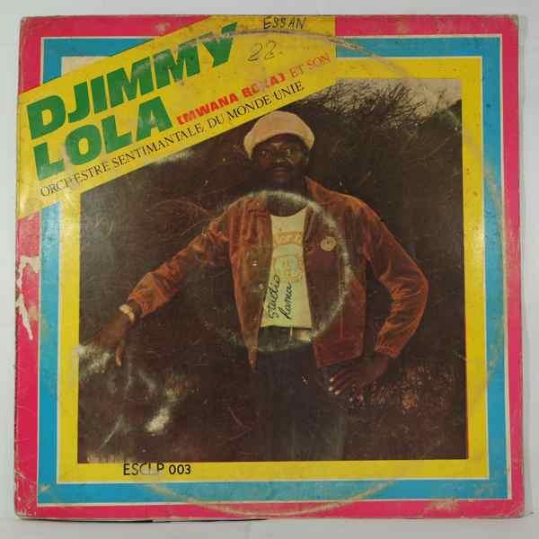 DJIMMY LOLA - Orchestre sentimental du monde unie - LP