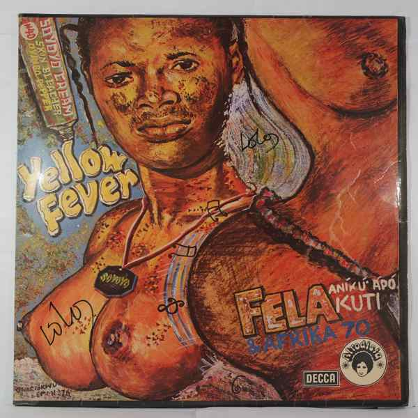 FELA KUTI - Yellow fever - LP