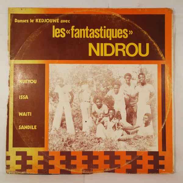 LES FANTASTIQUES NIDROU - Dansez le Kedjouwe - LP