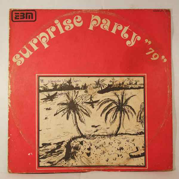 SIALA MBOMBO & LE TOUT CHOC MABONZA - Surpise party 79 - LP