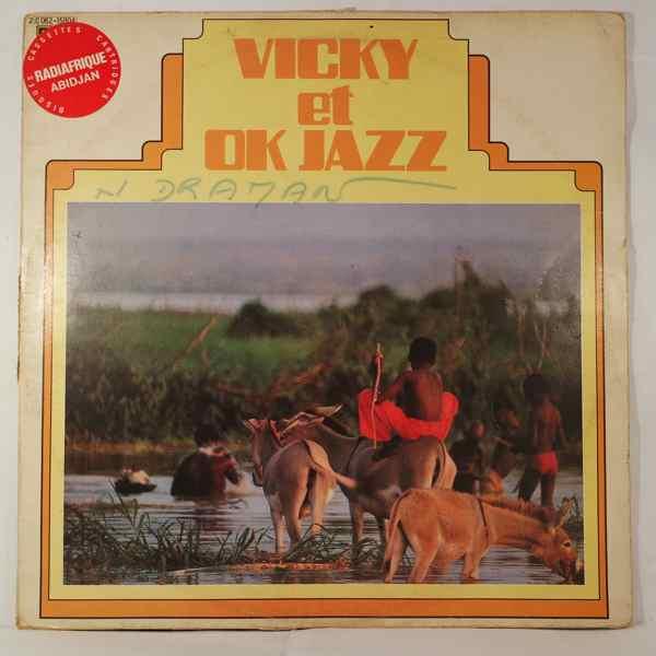 VICKY ET OK JAZZ - Same - LP