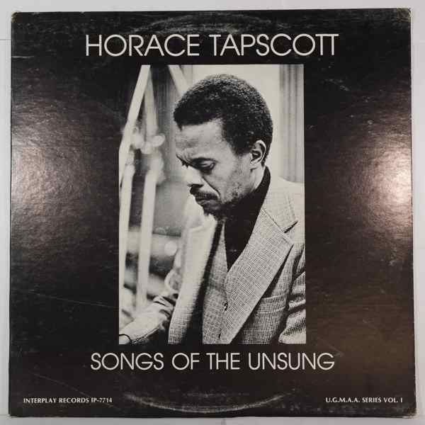 HORACE TAPSCOTT - Songs Of The Unsung - LP