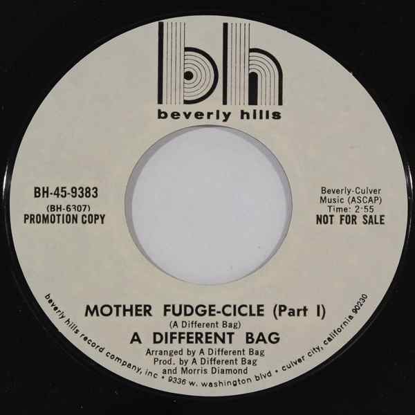 A DIFFERENT BAG - Mother fudge-cicle - 7inch x 1