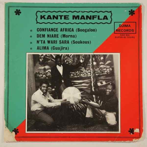 KANTE MANFILA - Confiance Africa EP - 45T (SP 2 titres)