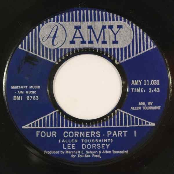 LEE DORSEY - Four corners - 7inch (SP)