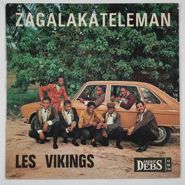 LES VIKINGS - Puchi's Boogaloo / Zagalaketelema - 45T (SP 2 titres)