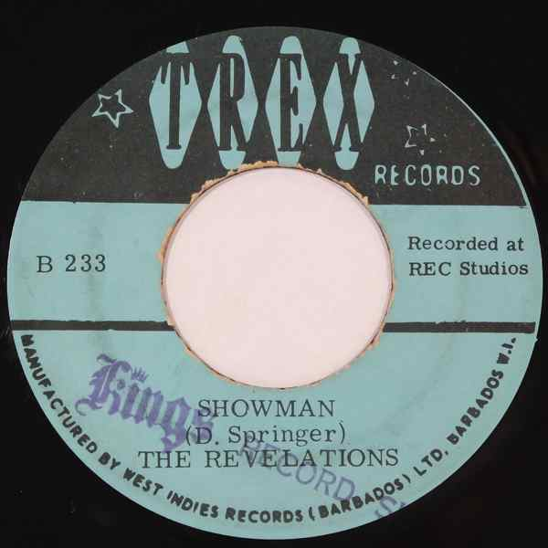 THE REVELATIONS - Showman - 7inch (SP)