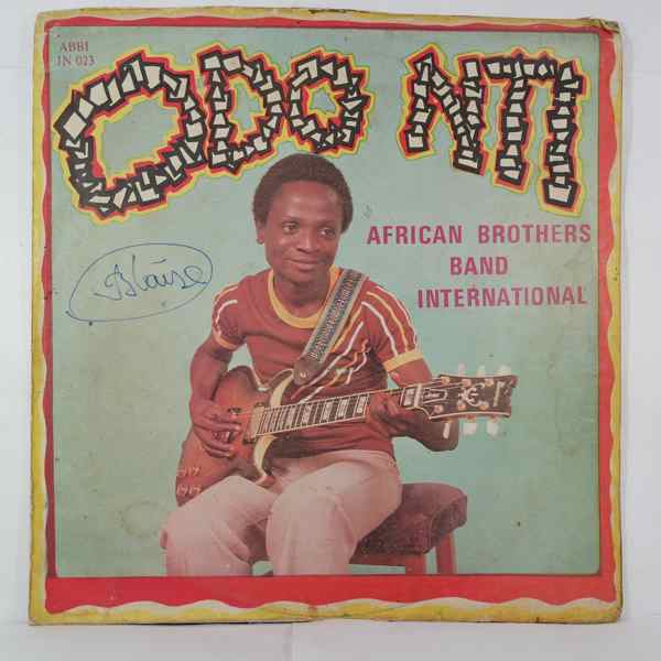 AFRICAN BROTHER'S BAND - Odo Nti - LP