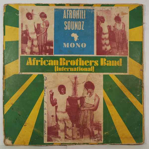 AFRICAN BROTHER'S BAND - Afrohili soundz - LP
