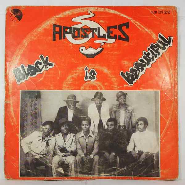 APOSTLES - Black is beautiful - LP