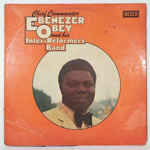 CHIEF COMMANDER EBENEZER OBEY - Same - LP