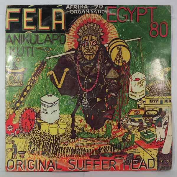 FELA KUTI - Original suffer head - LP