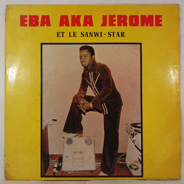 EBA AKA JEROME - Same - LP